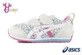 ASICS亞瑟士女童鞋 SUKU童運動鞋機能鞋IDAHO MINI足弓鞋墊 女童跑步鞋 A9102#白色◆OSOME奧森鞋業