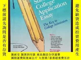 二手書博民逛書店Writing罕見A Successful College Application Essay: The Key