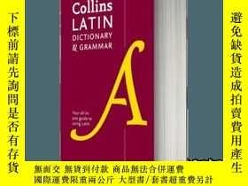 二手書博民逛書店柯林斯拉丁語詞典及語法罕見英文原版 Collins Latin