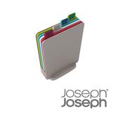 Joseph Joseph 檔案夾止滑砧板(迷你銀)