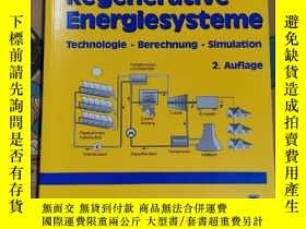 二手書博民逛書店Regenerative罕見Energiesysteme(含光盤)Y94821 Volker Quaschni