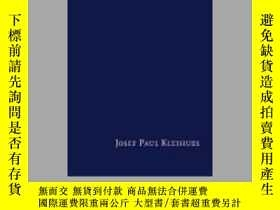 二手書博民逛書店Josef罕見Paul Kleihues: Themes and