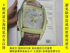 二手書博民逛書店大16開英文原版手錶雜誌罕見EUROPA STAR(歐洲之星)