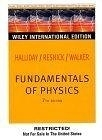二手書博民逛書店《FUNDAMENTALS OF PHYSICS 7/E EXT