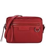 【南紡購物中心】LONGCHAMP LE PLIAGE NÉO 系列新款厚尼龍斜背相機包(紅)
