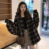 polo衫女可愛秋潮ifashion上衣慵懶襯衣女chic風成熟女裝氣質學生