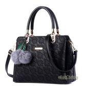中年女包30 40 50歲媽媽包包女新款簡約大氣手提包女皮包「時尚彩虹屋」