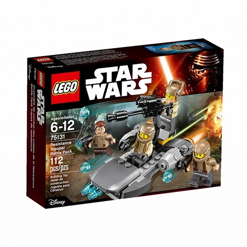 LEGO樂高 星際大戰™系列 Resistance Trooper Battle Pack_LG75131
