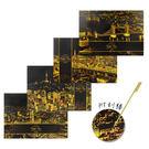 韓國 Lago Scratch Night View 環遊世界金色夜景刮刮畫 乙入 刮畫/夜景劇本/多款可選 ◆86小舖 ◆