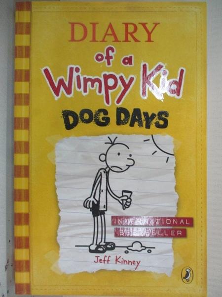 【書寶二手書T1/原文小說_HBB】Diary of a Wimpy Kid: Dog Days (Book 4)_Jeff Kinney