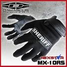 DAMASCUS NEXSTAR 新星 輕量型手套含反射識別條#MX-10RS黑色【AH42017】i-Style居家生活