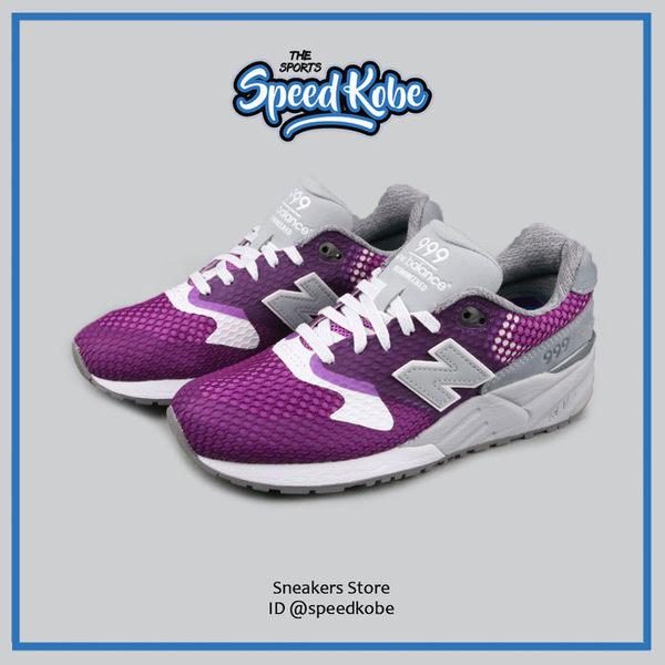 NEW BALANCE 999 紫灰 網布 透氣 復古慢跑 男段女尺寸 MRL999AF ☆SP☆