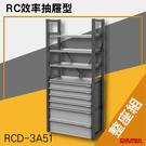 樹德SHUTER-RC效率抽屜型 RCD-3A51(整座組) 工具桌 工具車 螺絲收納 重型工業
