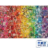加拿大進口拼圖黑白熊貓彩虹8副成年減壓1000片【英賽德3C數碼館】