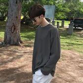 春季新品男士T恤學生情侶原宿bf風上衣
