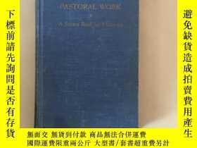 二手書博民逛書店Pastoral罕見Work—A Source Book for