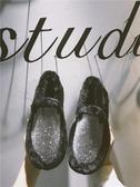 鞋子女秋季韓版平底百搭同款豆豆鞋女休閒一腳蹬單鞋 歌莉婭