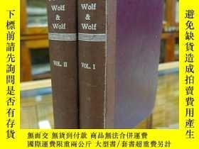 二手書博民逛書店The罕見Fungi. In Two Volumes by FA