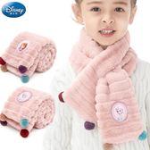 兒童圍巾 寶寶圍巾秋冬韓版保暖毛絨防風女童公主可愛幼兒兒童圍脖套
