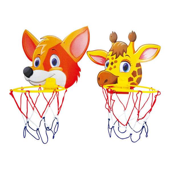 造型籃球組(單入不挑款) 卡通籃球架 投籃框 小型投籃板  (購潮8)