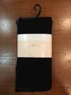 【京之物語】日本製JILLSTUART全黑素面腳底金蔥女性舒適美腳褲襪M-L