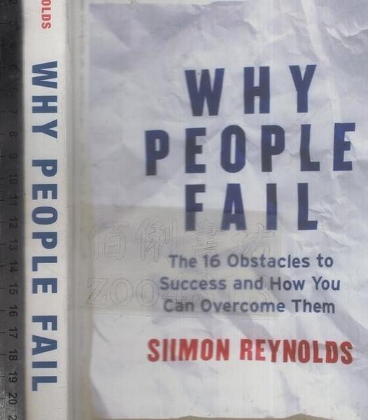 二手書R2YB《WHY PEOPLE FAIL》2012-REYNOLDS-97