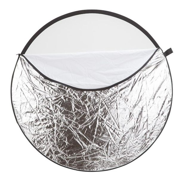 110cm五合一攝影反光板折疊便攜檔光板jy打光板柔光板拍照器材【限量85折】