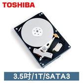 全新 TOSHIBA  東芝 1000G 1TB  3.5吋 SATA3 內接式硬碟  32M 全新盒裝