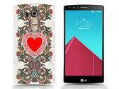 ♥ 3C膜露露 ♥ { 古典愛心*水晶硬殼} LG G4 手機殼 保護殼 手機套 保護套