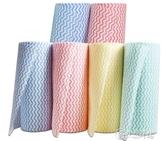 6捲裝廚房用紙抹布洗碗紙巾捲紙吸油吸水清潔專用擦去油污無紡布 小城驛站