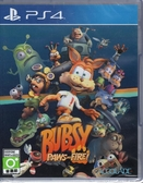 PS4遊戲 大笨貓 火速奇兵 Bubsy: Paws on Fire! 中文版【玩樂小熊】