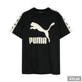 PUMA 女 流行系列PUMA織帶短袖T恤(F)  圓領T(短)- 57841601