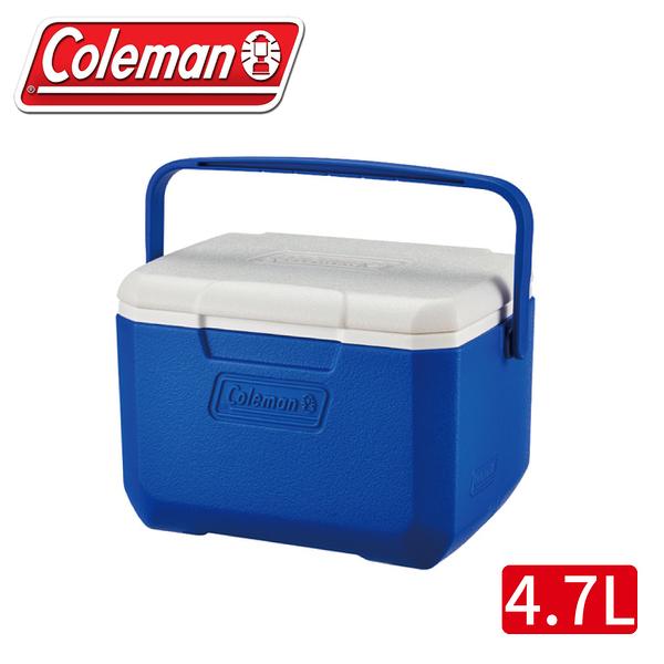 【Coleman 美國 TAKE 6 高效能行動冰箱《海洋藍》】CM-33009/行動冰箱/冰桶/保冰箱