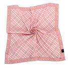 DAKS 經典斜格紋純綿帕領巾(粉紅色)...