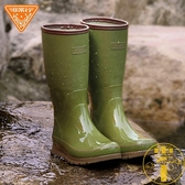 高筒雨鞋男士水鞋輕量雨靴防水耐磨廚房鞋【雲木雜貨】