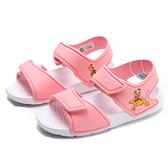 ADIDAS 涼鞋 AlLTASWIM DISNEY 涼鞋 布魯托 粉白 黏帶 小童 (布魯克林) FX4362