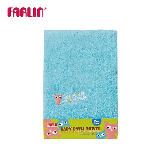 【FARLIN】兒童100%純棉浴巾(小怪獸)