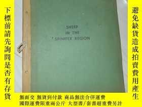 二手書博民逛書店SHEEP罕見IN THE SPINIFEX REGION 外文