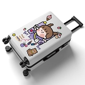 行李箱 行李箱女韓版學生ins拉桿箱密碼旅行箱包初高中高顏值大容量皮箱