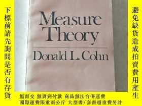 二手書博民逛書店measure罕見theory donald l.cohnY447092 Donald L.Cohn Dona