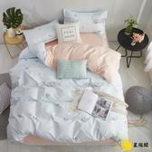 床包組 少女心床上四件套夏天冰絲網紅款大學被套學生宿舍床單人三件套4