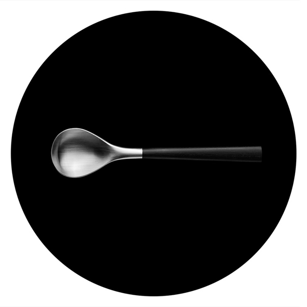 日本 Sori Yanagi Black Birch Handle Cutlery 柳宗理 樺木黑柄餐具系列 不鏽鋼 茶匙