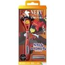 舒適牌 水次元5 刮鬍刀 (刀把1入+刀片2入) 新福音戰士限量版 2號機限量版(紅色)
