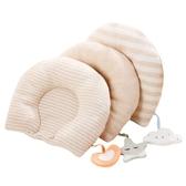 頭防偏頭定型枕0-1歲新生兒枕頭透氣棉質糾正偏頭矯正 快速出貨