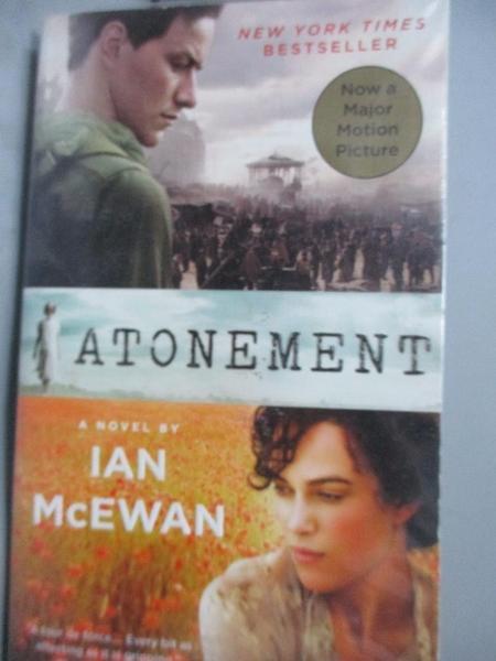 【書寶二手書T8/原文小說_LIZ】Atonement_McEwan