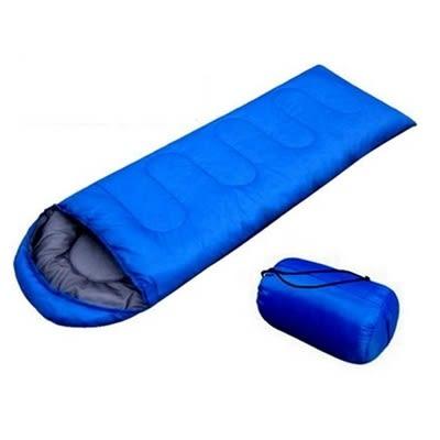 睡袋(單人)快速收納-信封式午休睡袋戶外露營登山用品71q1[時尚巴黎]