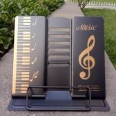 古琴吉他 桌面樂器曲譜架 金屬用便攜簡易 多檔可調可摺疊平板架 台北日光