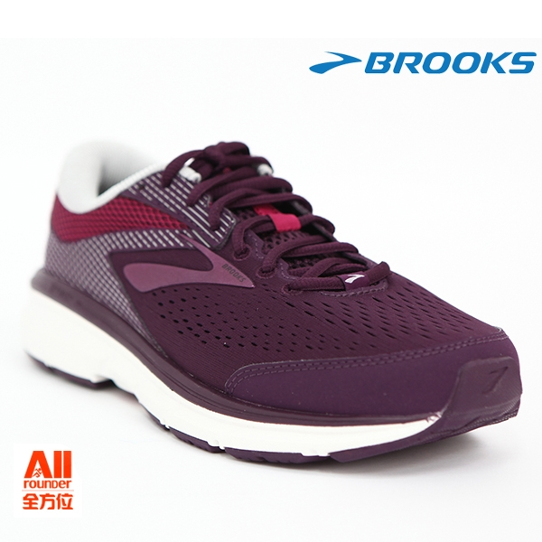 【BROOKS】女款輕量型慢跑鞋 Dyad 10 系列-紫色 超寬楦(752E527)-【全方位運動戶外館】
