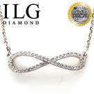 【ILG鑽】頂級八心八箭擬真鑽石項鍊- 無限情緣款-NC087情人生日禮物女友送禮最佳選擇