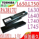 TOSHIBA 電池(保固最久)-東芝  A660,A660D, A665, A665D ,C640, C640D,C645,C645D, PA3816U-1BRS PA3817U-1BAS